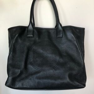 Tory Burch - Black leather tote